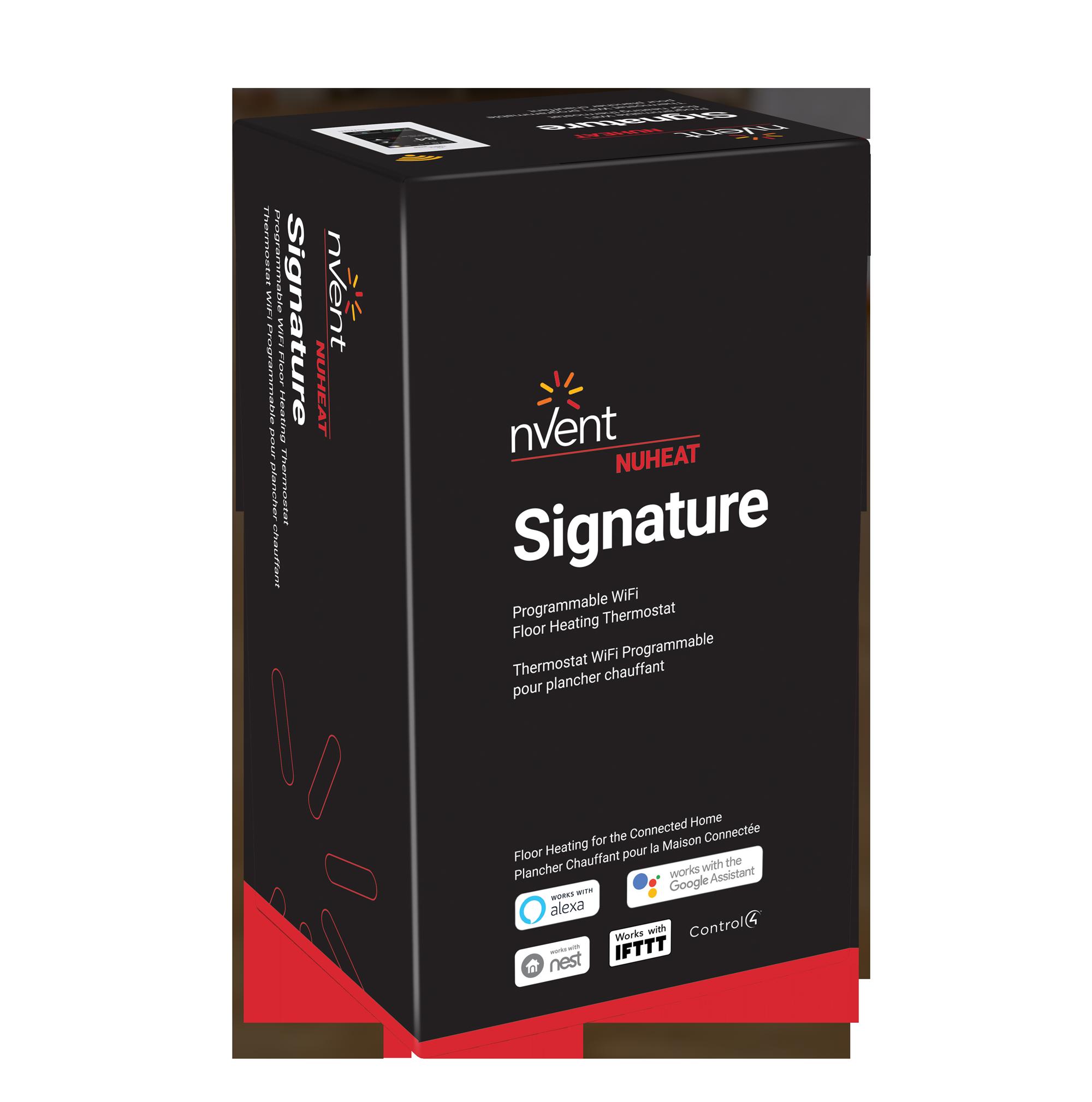 Signature Thermostat By Nuheat Floor Heating