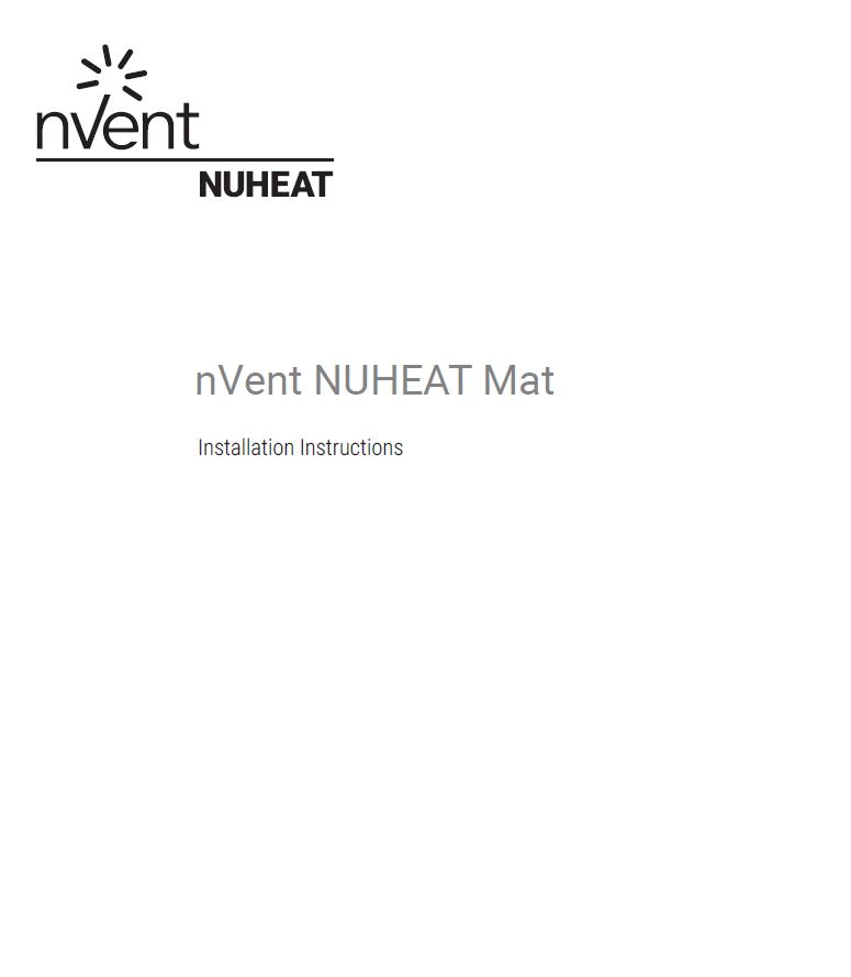 Nuheat Standard Mats - The thinnest pre-built electric floor heating on jacuzzi wiring diagram, lightolier wiring diagram, rheem wiring diagram, broan wiring diagram, frigidaire wiring diagram, honeywell wiring diagram, samsung wiring diagram, emerson wiring diagram, whirlpool wiring diagram, panasonic wiring diagram, trane wiring diagram, intermatic wiring diagram, delta wiring diagram, square d wiring diagram, easy heat wiring diagram, danfoss wiring diagram, lutron wiring diagram, suntouch wiring diagram, warmly yours wiring diagram, wac lighting wiring diagram,
