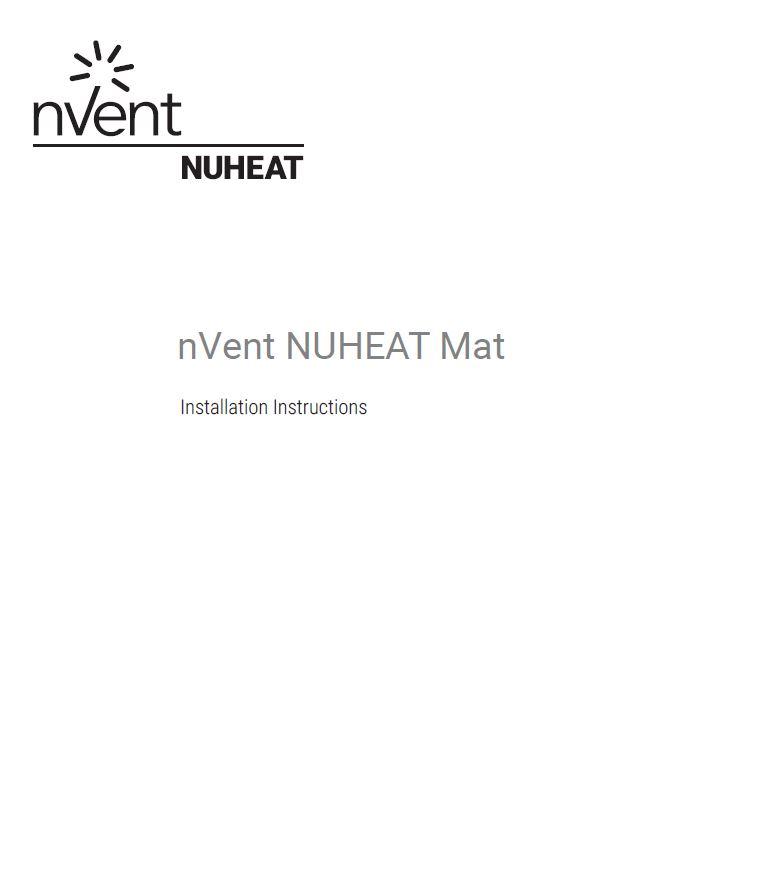 Nuheat Custom Mats The Thinnest Custom Built Electric