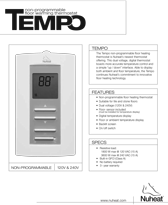 Tempo-Thermostat---Sell-Sheet